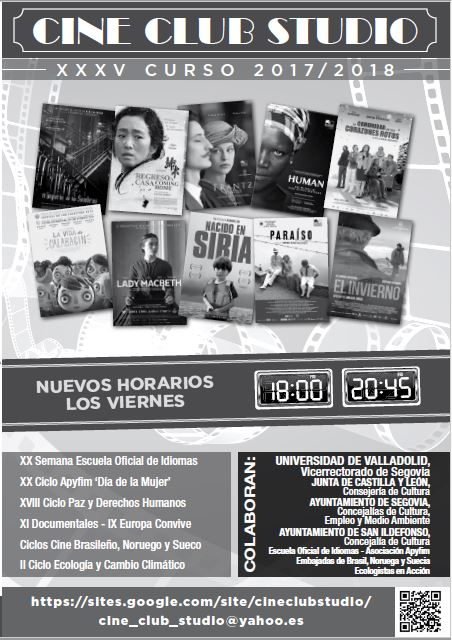 cine club estudio 2018