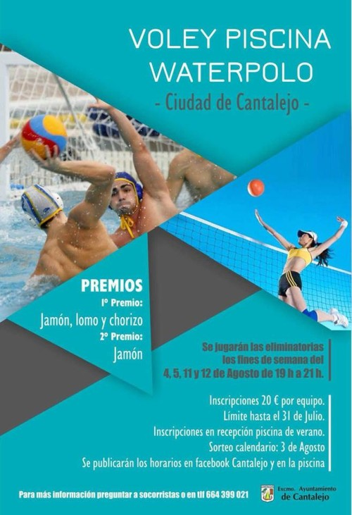 voley piscina cantalejo